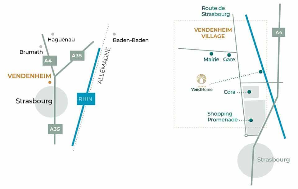 carte accès Vendhome